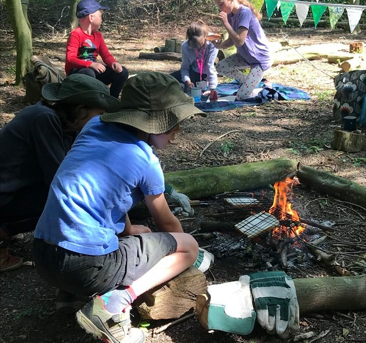 October Half Term: Coworking + Forest School